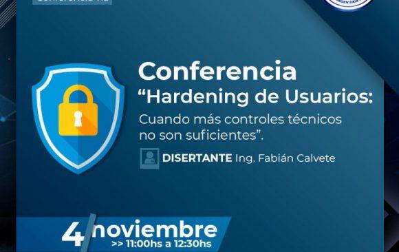 """Conferencia """"Hardening de Usuarios"""""""